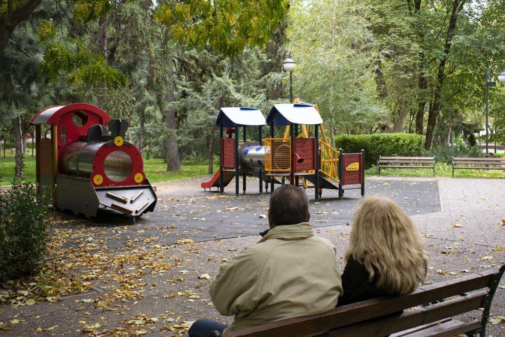 Couple, Playground, No Children